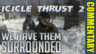 we have them surrounded winter paintball icicle thrust 2