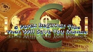 5 Forex Beginner Tips That Will Save Your Money