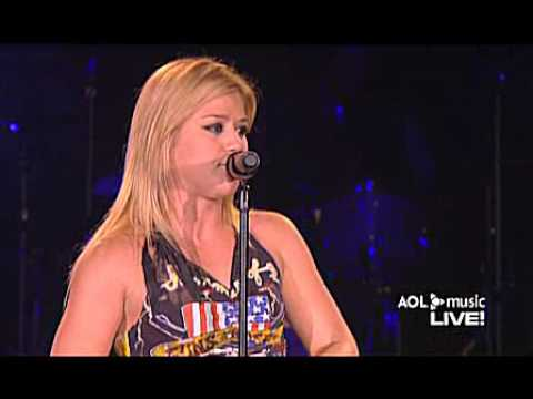 Kelly Clarkson   Live @ AOL Music Live