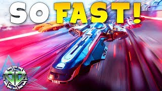 First Look : SO FAST!  F-ZERO STYLE RACER! : Antigraviator Gameplay : PC Early Access