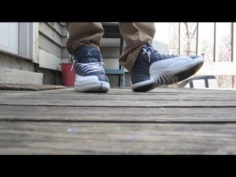 wholesale dealer acd0b 31280 EBAY STEAL: Air Jordan 12 Retro Obsidian + On Feet