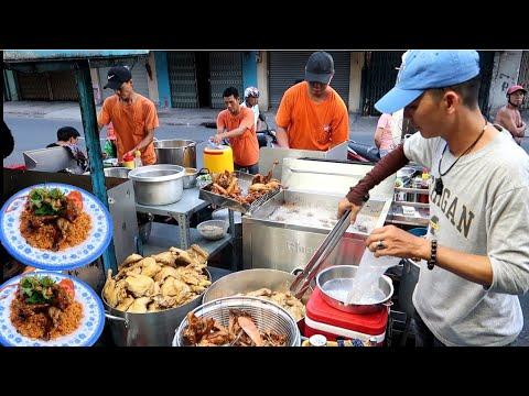 Quán Cơm gà Xối Mỡ (Gốc Hoa) 4 Người bán không kịp ở Sài Gòn | Saigon Travel