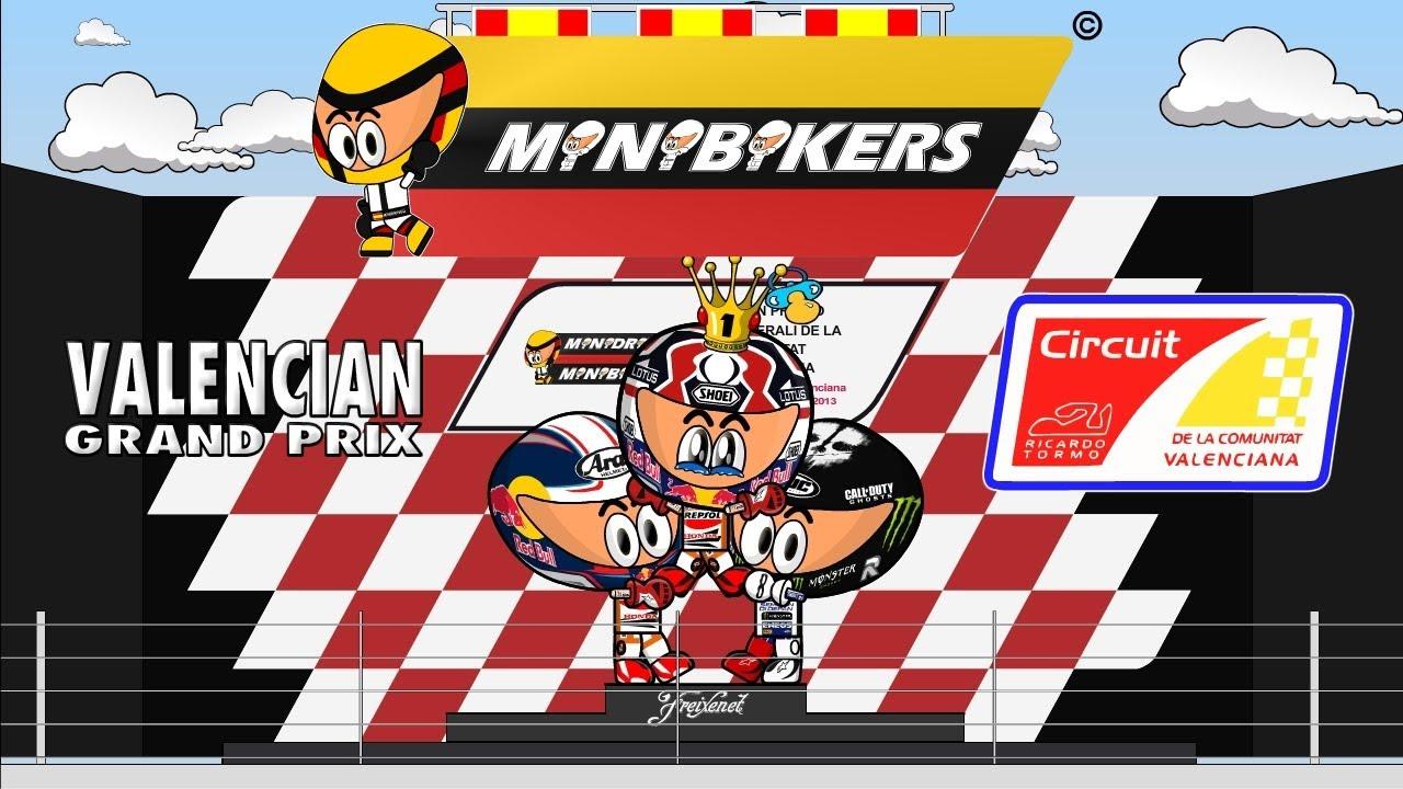 Video Kartun MotoGP Valencia 2013 KomMotor