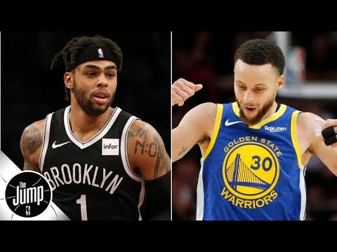 The Warriors to shop D'Angelo Russell? 'They can't trade him!' - Marc J. Spears | The Jump