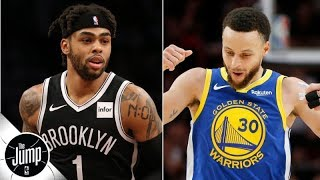 Download The Warriors to shop D'Angelo Russell? 'They can't trade him!' - Marc J. Spears | The Jump Mp3 and Videos