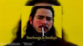 """Post Malone - """"Wow."""" (Official Audio)"""