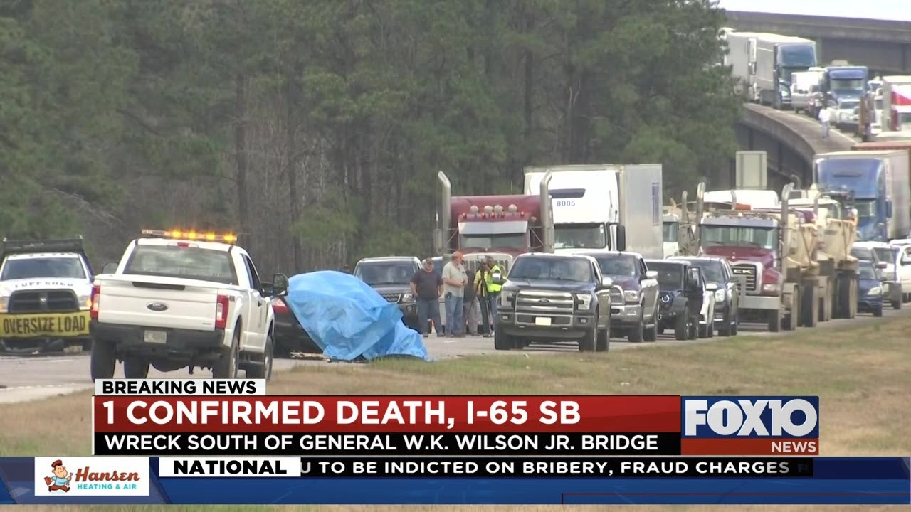 Serious accident on I-65 SB
