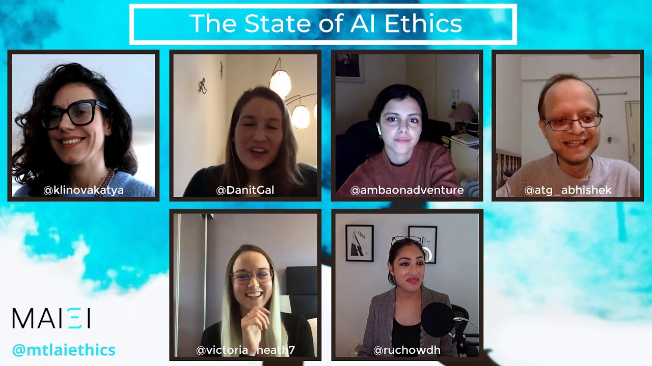 The State of AI Ethics Panel (December 2020)