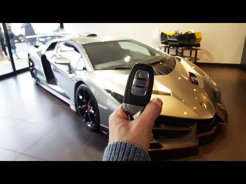 Lamborghini Veneno Coupe: In-depth Exterior and Interior Tour! w/ Cold Start!