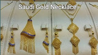 Latest Heavy Gold Necklace Huge CollectionSaudi Gold Necklace Designs 2020