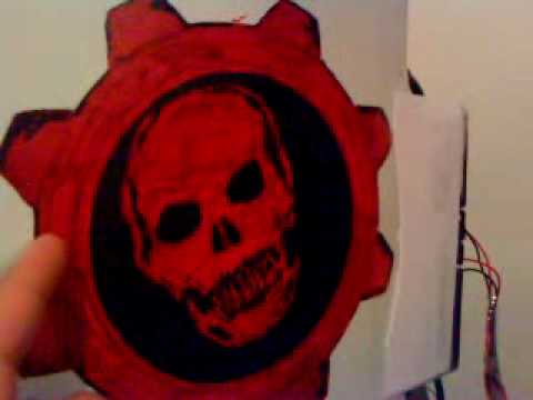 Xbox 360 mod gears of war y modificada youtube for Gears of war logo tattoo