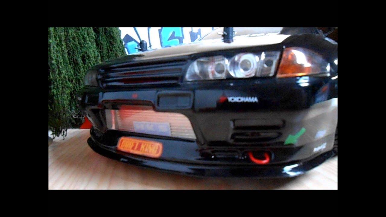 Nissan Skyline Gtr Advan Rc Drift Hd Youtube