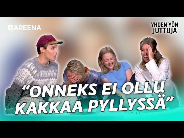 """""""MILTÄ NE KIVEKSET MAISTU!?"""" - Thelma ja Valtteri feat. Yhden yön juttuja OSA 2"""