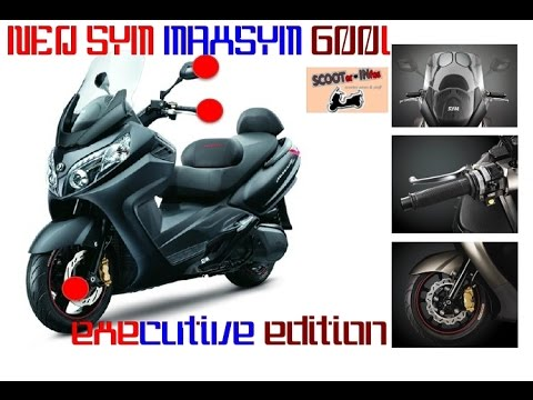 NEW SYM MAXSYM 600i ABS executive edition - details