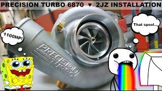 2JZ Engine installation | Motor installation 2JZ! | Frazzes_Supra