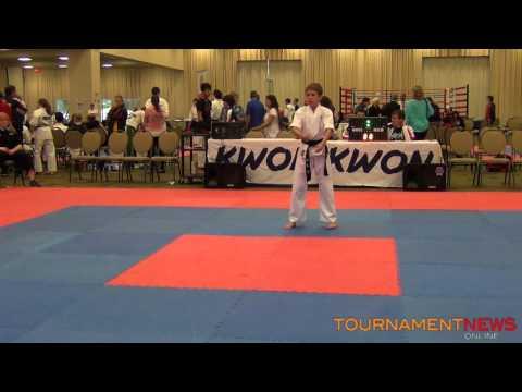 Andrew Adams Koreanstyle Juniors Male Final at WKA World Championship 2012