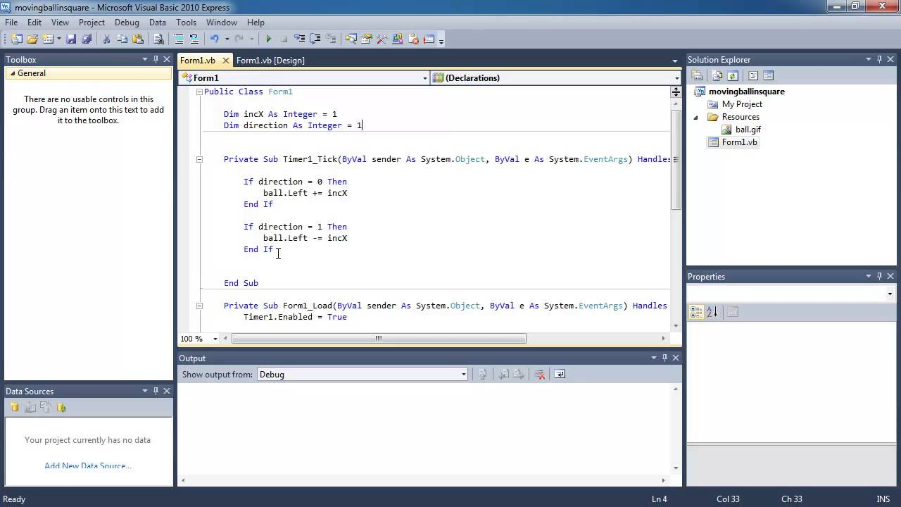 Visual Basic Lesson 14