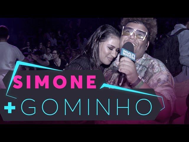 Chora não, coleguinha!   Gominho nos bastidores   Simone   Prêmio Multishow 2018