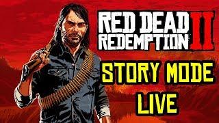 Red Dead Redemption 2 Free Roam Walkthrough Gameplay LIVE! Legendary Animals, New Horse & Treasure!
