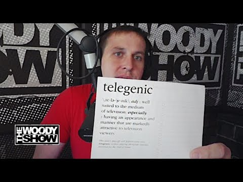 "Menace's Word Of The Day is ""Telegenic"""