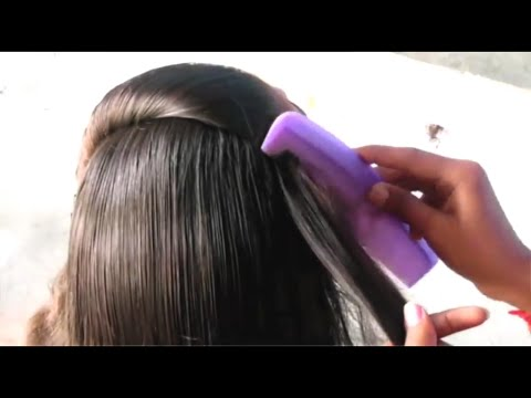 Easy Simple Party Hair Style Under Minutes