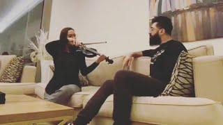 جلسه طرب سيف نبيل والعازفه لبنانيه جويل سعاده | كل يوم الك اشتاك ``ليله ورى ليله