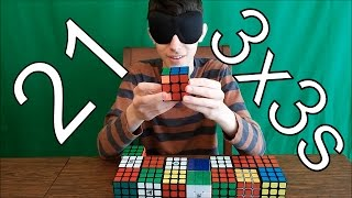 [NEW] How Well Do I Know My Cubes? | 21 CUBES!