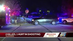 2 killed, 1 hurt in Alexandria shooting