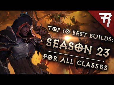 Top 10 Best Builds for Diablo 3 2.7 Season 23 (All Classes, Tier List)