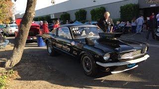 Holman-Moody 1966 Mustang Fastback SOHC Drag Car