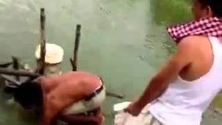 صيد سمك عجيب