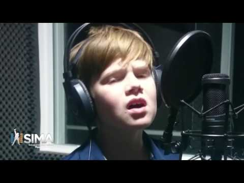 Somewhere In Brooklyn by Bruno Mars - cover by George Jefferson - 10 years old