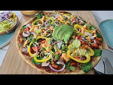 Potato Pizza Crust / Gluten free, Grain free, Yeast free, Vegan
