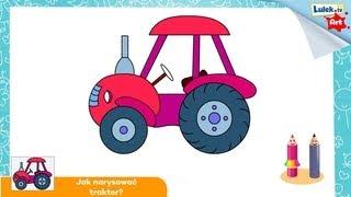 Jak narysować traktor?