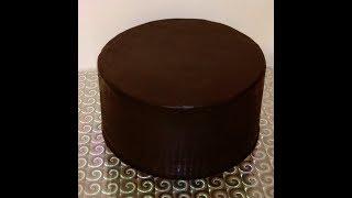 Идеальный ганаш под мастику для выравнивания торта.