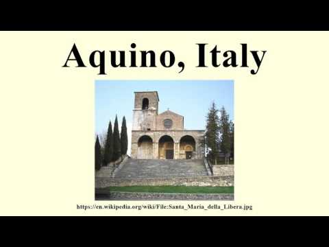Aquino, Italy