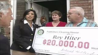 Publishers Clearing House $20,000.00 Roy Hiter