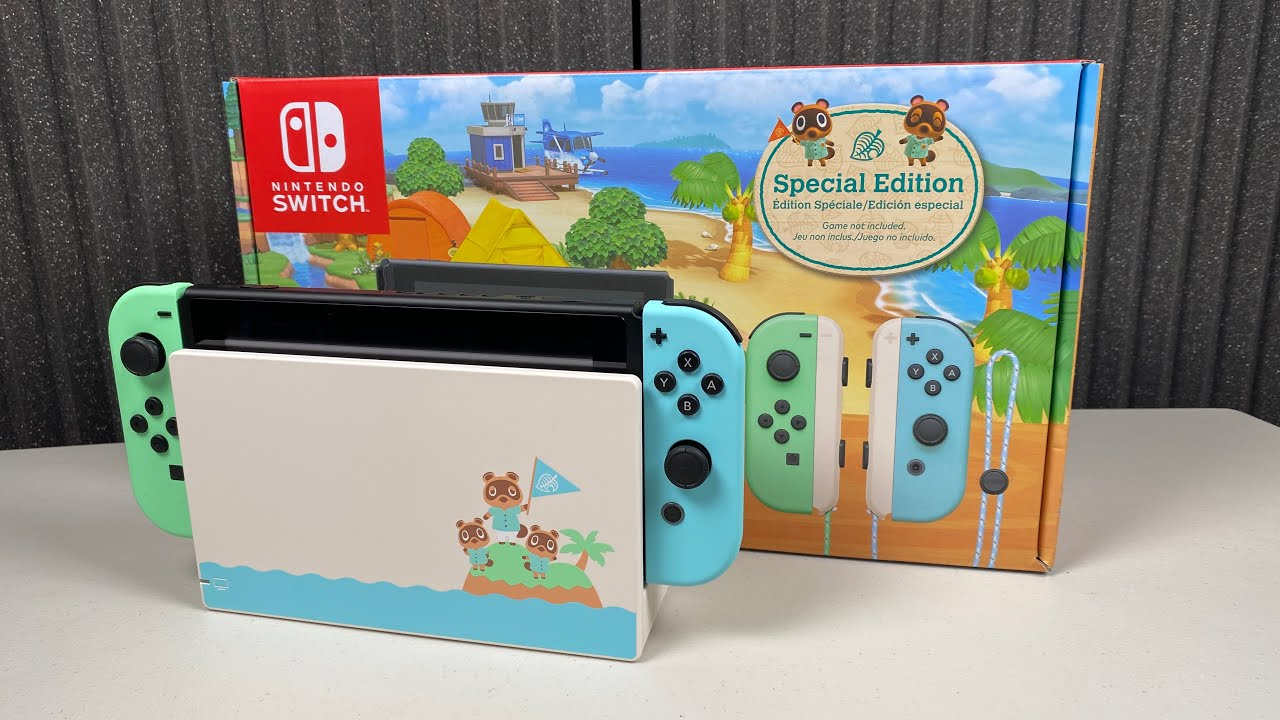 Animal Crossing New Horizons Switch Unboxing Best Cases