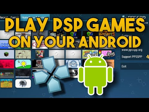 How To Play PSP Games On Android! 2019 - Easy PPSSPP Tutorial