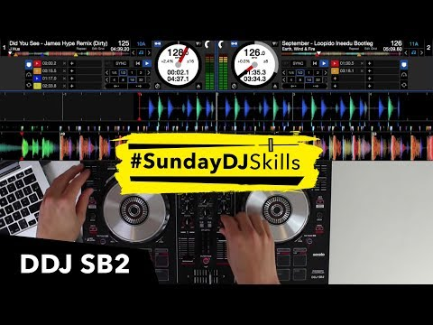 Pioneer DDJ SB2 - House, EDM, Hip Hop - Performance Mix