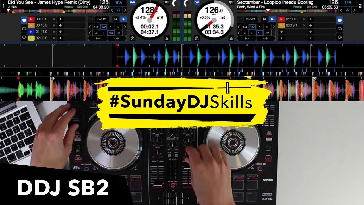 Pioneer DDJ SB2 – House, EDM, Hip Hop – Performance Mix