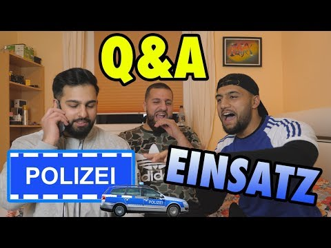 POLIZEI EINSATZ BEI VIDEO DREH !! 😱 | Q&A