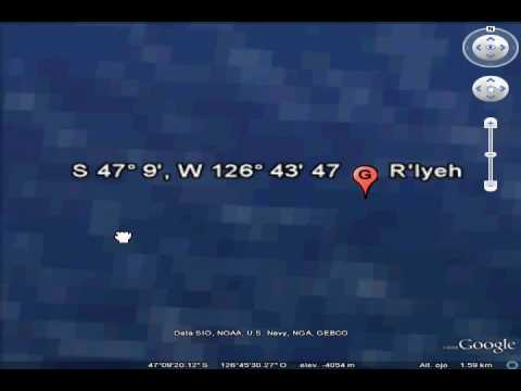 R'lyeh removed from Google Maps; some geek alternatives