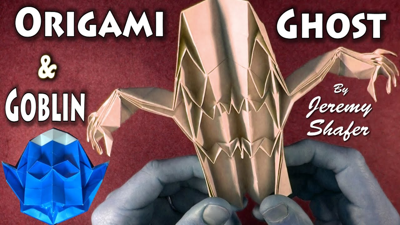 Origami ghost and goblin youtube jeuxipadfo Choice Image
