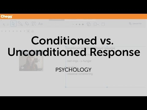 Conditioned And Unconditioned Responses   Psychology   Chegg Tutors