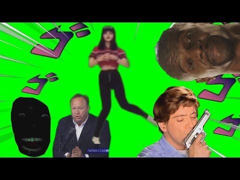 Best Popular MEME /Funny Green Screen Pack #1 2019 (free Download
