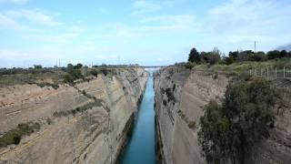 Коринфский канал, Греция(Коринфский канал. Греция. Фотоаппарат Nikon D7000., 2011-07-03T13:47:48.000Z)