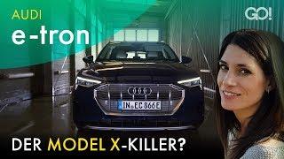 Audi E-Tron - Guter Erstling oder Schnellschuss? | Cyndie Allemann testet