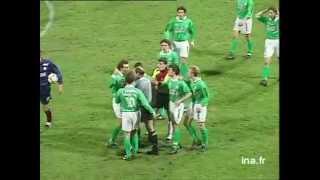 Football : Saint Etienne / Bordeaux 1995  - Archive vidéo INA