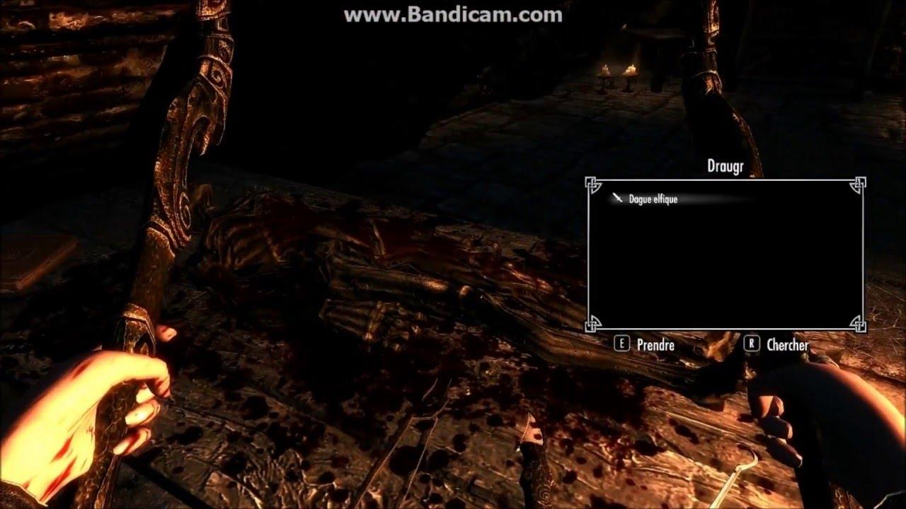 Skyrim : walkthrough undeath (l'immortel) 5 l'autel nécromantique ...